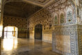 Inside amber fort jaipur india Royalty Free Stock Image