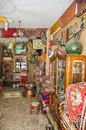 The inside of antique shop in turkey Stock Photography