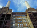 Inside The Battersea Power Station Royalty Free Stock Photo