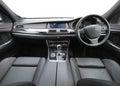 Inside a car Royalty Free Stock Photo