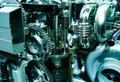 Inside of a car engine Royalty Free Stock Photo