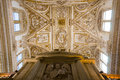 Inside the cathedral of Cordoba Stock Photography