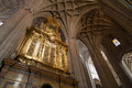 Inside cathedral the decoration the of toledo spain Royalty Free Stock Image