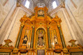 Inside cathedral the interior decoration the church of austria Stock Photography