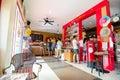 Inside coffee shop. Royalty Free Stock Photo