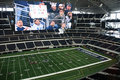 Inside Cowboys Stadium Royalty Free Stock Image