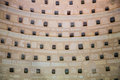 Inside a dovecote view of detail of clean Royalty Free Stock Images