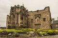 Inside Edinburgh Castle Walls Royalty Free Stock Photo