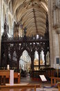 Inside Ely Cathedral Royalty Free Stock Photo