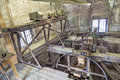Inside the historic clock tower of jacob s church in weimar germany may on may germany bells were constructed by franz schilling Royalty Free Stock Image