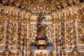 Inside Igreja e Convento de São Francisco in Bahia, Salvador - Brazil Royalty Free Stock Photo