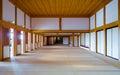 Inside the Kumamoto castle Royalty Free Stock Photo