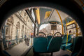 Inside London bus Royalty Free Stock Photography
