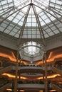 Inside mall Στοκ φωτογραφία με δικαίωμα ελεύθερης χρήσης