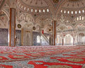 Inside Manavgat mosque, Turkey Royalty Free Stock Photos