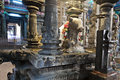 Inside Meenakshi Temple Royalty Free Stock Image