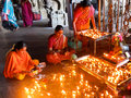 Inside the Menakshi Temple Madurai
