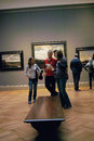 Inside the met new york city usa students plan their tour of metropolitan museum of art in Stock Photos