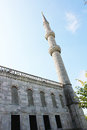 Inside the mosque, Istanbul. Royalty Free Stock Photo
