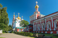 Inside the Novodevichy convent in Moscow Royalty Free Stock Photo