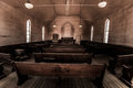 Inside an Old Church Bodie Mining Town California Royalty Free Stock Photo