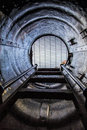 Inside an Old Submarine Royalty Free Stock Photo