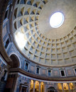 Inside the Pantheon, Rome, Italy Royalty Free Stock Photography