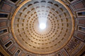 Inside the Pantheon, Rome, Italy Royalty Free Stock Photo