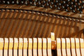 Inside a Piano - Strings Royalty Free Stock Photo