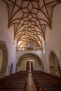 Inside prejmer church one of eastern europe's best preserved fortified and unesco listed churches lies km northeast of brasov Royalty Free Stock Photography