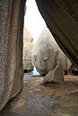 Inside remarkable rocks on kangaroo island australia Stock Images