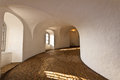 Inside of round tower in copenhagen denmark Royalty Free Stock Photography