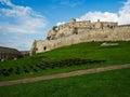 Inside the ruins of Spis castle, Slovakia