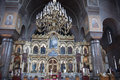 Inside uspenski cathedral helsinki the is an eastern orthodox in finland the has several valuable icons Stock Image