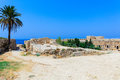 Inside Venetian Kyrenia Castle Royalty Free Stock Photo