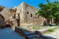 Inside Venetian Kyrenia Castle (16th c.), North Cyprus Royalty Free Stock Photo