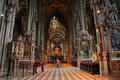 Inside Vienna Cathedral,Austria Royalty Free Stock Photos