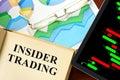 Insider trading Royalty Free Stock Photo