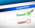 Inspection Results business paperwork Stock Photography