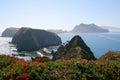 Inspiration Point, Anacapa Island Royalty Free Stock Photo
