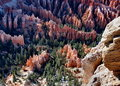 Inspiration Point, Bryce Canyon  Royalty Free Stock Photos