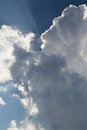 Inspirational Clouds and Sun Royalty Free Stock Photo