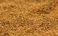 Instant coffee bowl of granules Stock Photo
