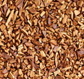 Instant coffee granulated close up view Stock Photography