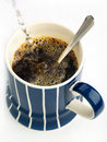 Instant coffee refreshment Stock Photography