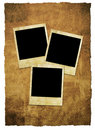 Instant film grungy background Royalty Free Stock Photo