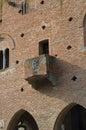 Institution palace. Grazzano Visconti. Emilia-Romagna. Italy. Stock Images