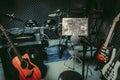 Música / música banda en / estudio