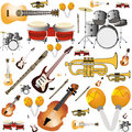 Instruments different making an special background Royalty Free Stock Photo