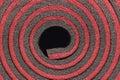 Insulation material closeup detail texture Royalty Free Stock Photos